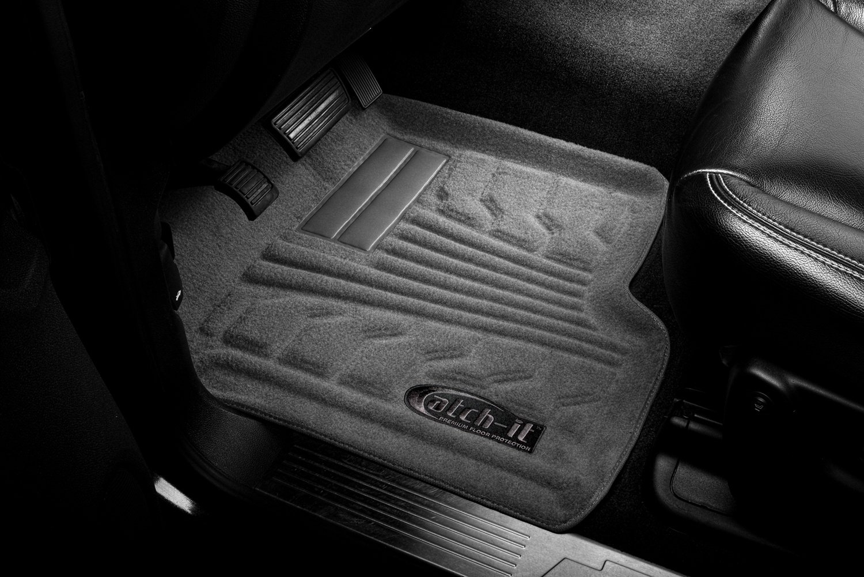 Lund 583037-G Catch-It Carpet Grey Front Seat Floor Mat Set of 2