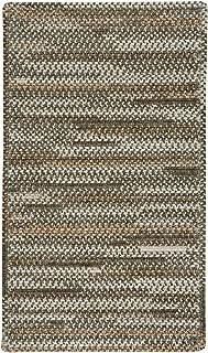 "product image for Habitat Grey 3' 0"" x 5' 0"" Cross Sewn Rectangle Braided Rug"