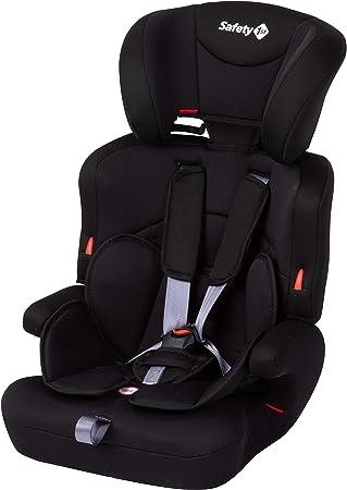 Comprar Safety 1st Ever Safe Plus Silla Coche grupo 1 2 3, crece con el niño 9 meses - 12 años (9-36 kg), con cojín reductor extraíble, color Negro