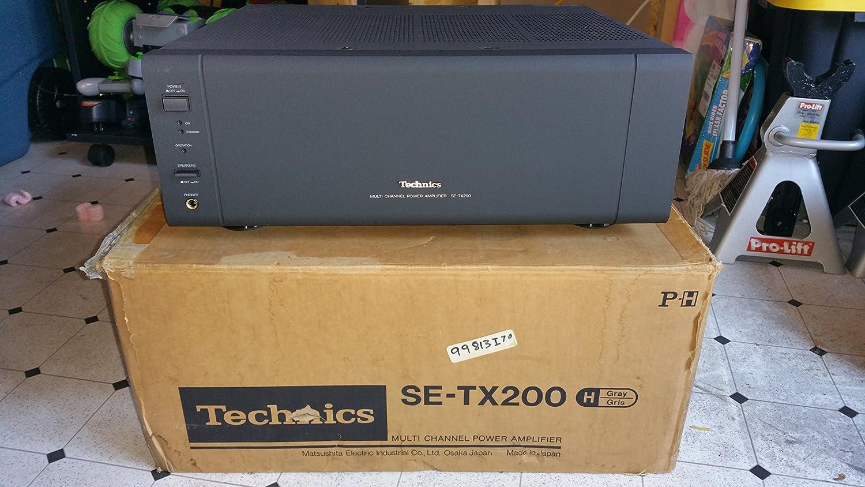 Technics SE-TX200 Multi Channel Power Amplifier 100w x 6