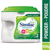 Similac Advance Step 2 Non-GMO Baby Formula, Powder, 658 g, 6-24 Months