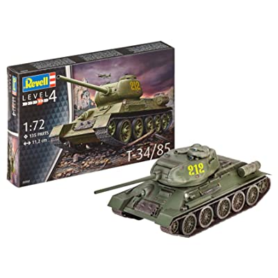 Revell 03302 1:72 - T-34/85: Toys & Games