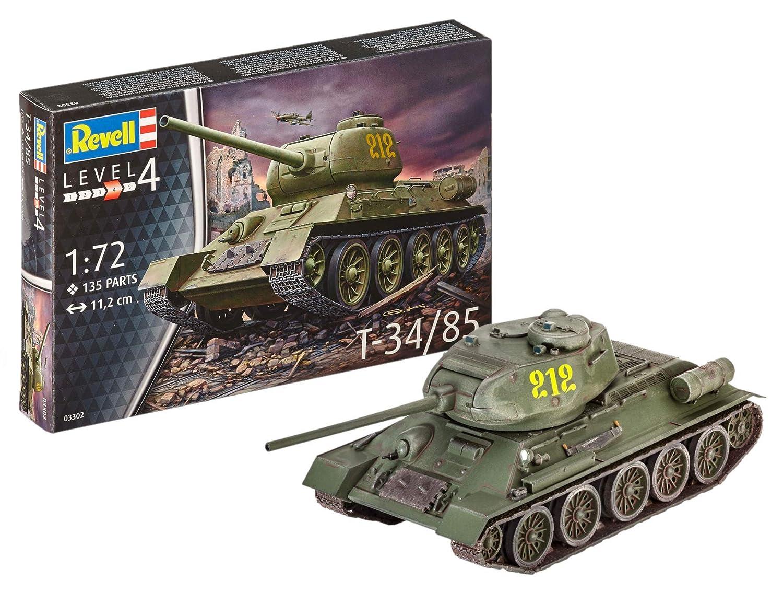 Revell-T-34/85 Kit Modelo, (03302)