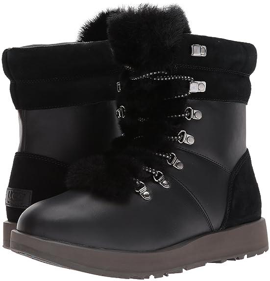 UGG Australia Damen Stiefeletten Waterproof Black 10174 93 BLK schwarz 365571