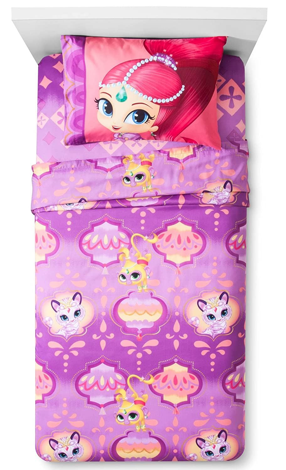 Buy Shimmer And Shine Twin Sheets By Nickelodeon Online At Low
