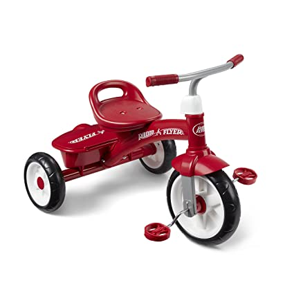 b61a8227b0b Amazon.com: Radio Flyer Red Rider Trike: Toys & Games