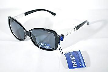 Gafas de sol polarizadas INVU B 2603 A Negro polarizadas 100% UV Block Sunglasses Polarized