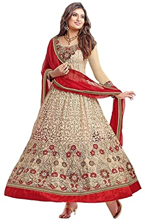 0a2bc9a94 Image Unavailable. Image not available for. Colour: Lady Loop Women's Net  Dress (Dresses Material ...