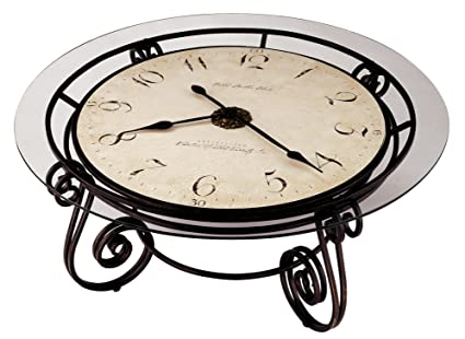 Howard Miller 615 010 Ravenna Cocktail Table Clock By