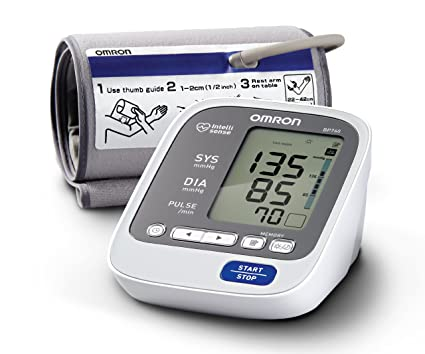 Omron Healthcare BP760 - Tensiómetro (AA, 1.5 V, LCD, 158 mm,