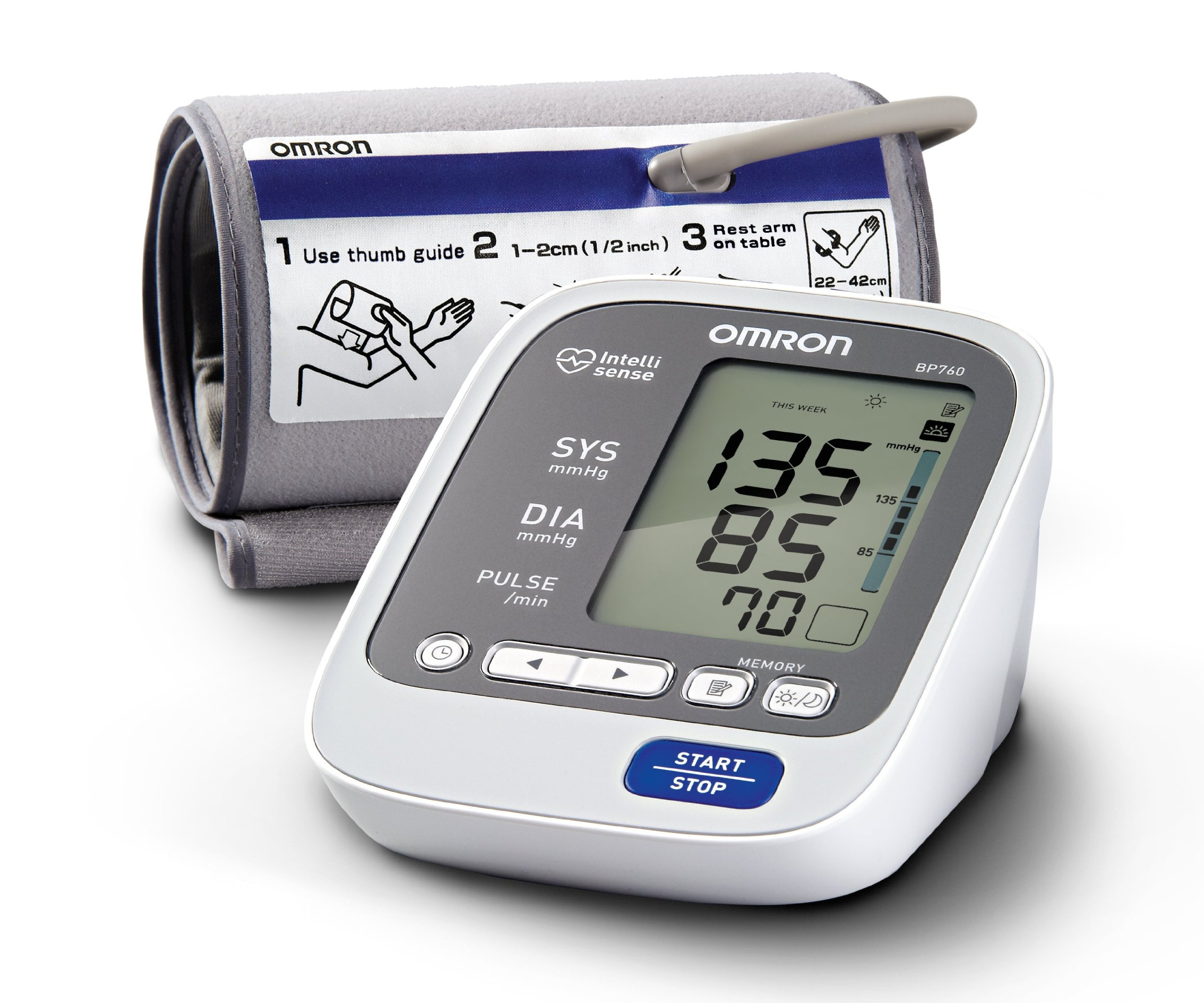 Omron 7 Series Upper Arm Blood Pressure Monitor by Omron (Image #1)