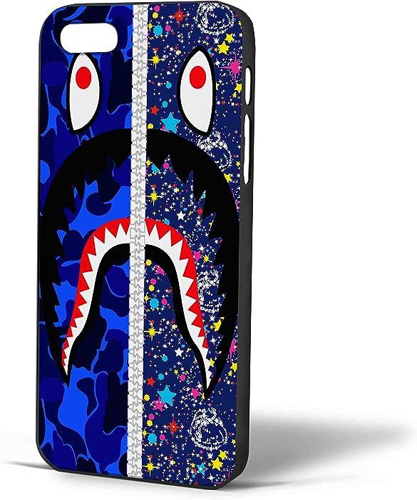 Bape Shark and Billionaire Boys Club for Iphone Case (iPhone 6 Black)