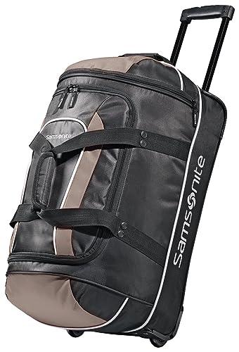 Samsonite Luggage Andante Wheeled Duffel, Black/Grey, 22 Inch