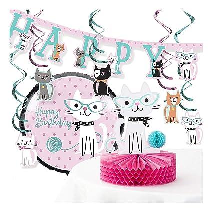 Amazon Creative Converting Purr FECT Cat Birthday Party