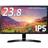 LG モニター ディスプレイ 24MP58VQ-P 23.8インチ/フルHD/IPS 非光沢/HDMI端子付/ブルーライト低減機能