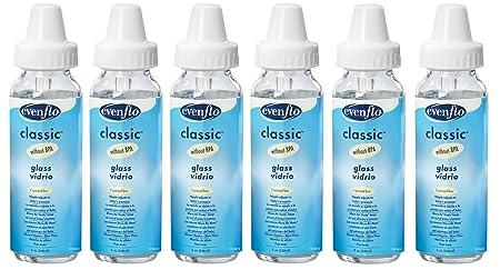 Amazon.com : Botella de cristal clásico, 6 Conde, 8 onzas (descatalogados por el Fabricante) : Baby