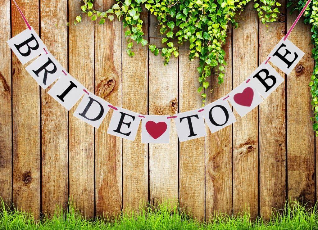 Bride To Be Party Dekoration Ammer Girlande Banner