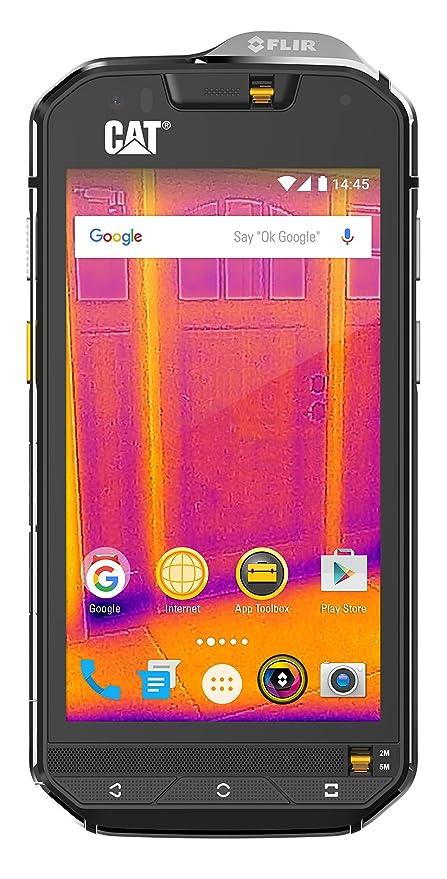 outlet na sprzedaż najlepsza cena nowy przyjeżdża Cat phones S60 Rugged Single-SIM Smartphone (11,94 cm (4,7 Zoll)  HD-Display, 32GB interner Speicher, Android Marshmallow, 3800 mAh Akku)  schwarz