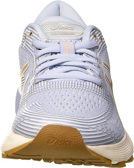Asics Gel-Nimbus 21, Zapatillas de Running para Mujer, Multicolor ...