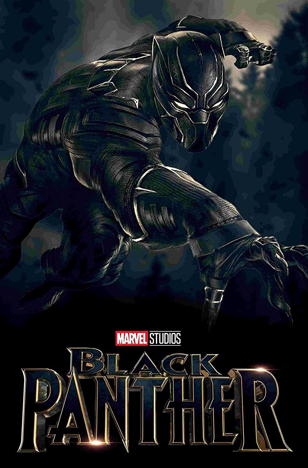 Amazon Com Black Panther Movie Chadwick Boseman Famous 12 X 18 Inch Poster Unframed Rolled Posters Prints