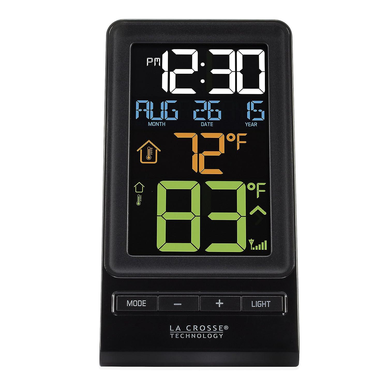 La Crosse Technology 308-1415 Wireless Thermometer, Black