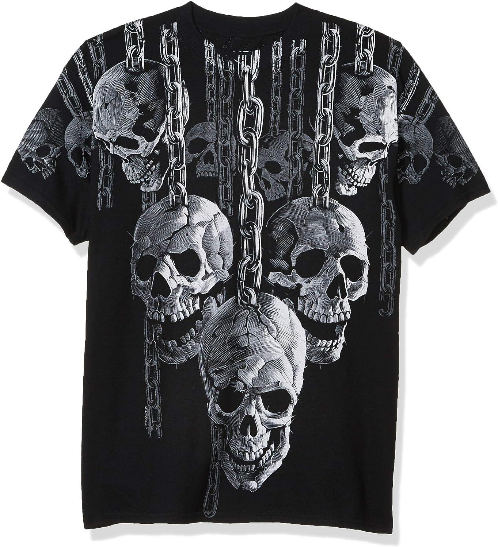 Liquid Blue Men's Plus-Size Hanging Out T-Shirt