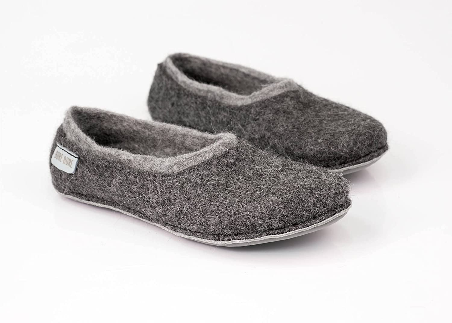 add0f12ec7bec Red Apple handmade felted wool slippers for women, Woolen home shoes ...
