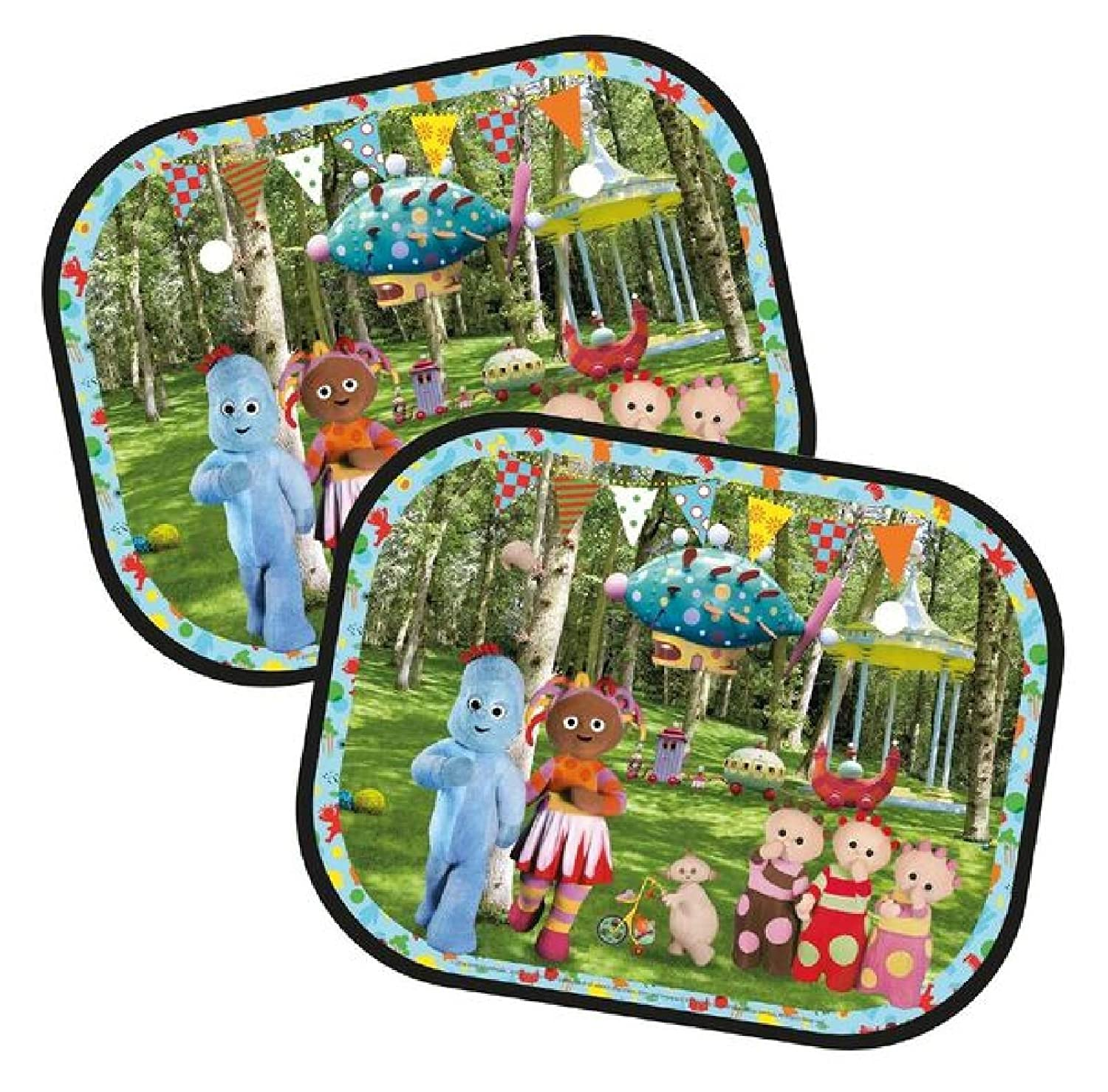 In the Night Garden Window Sun Shades: Set of Two Alligator