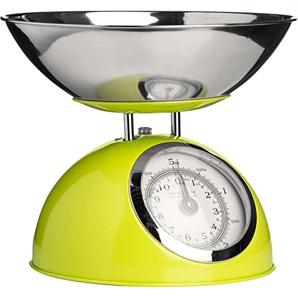 Premier Housewares Lime Green Kitchen Scales
