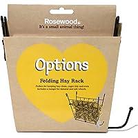 Rosewood Folding Wire Hayrack,