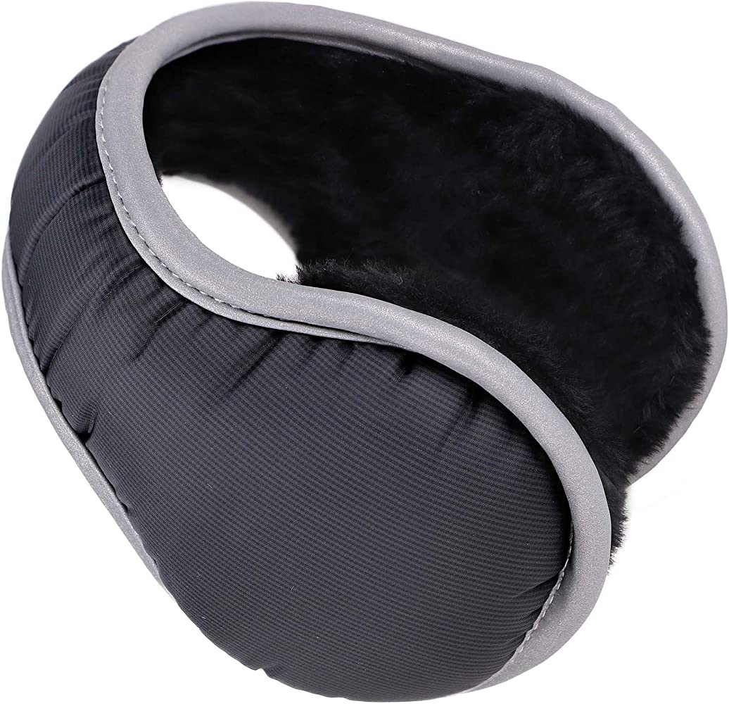 Brave Tour Unisex Earmuffs Simple Camouflage Earmuffs Lined Compact Winter Warm Earmuffs