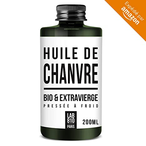 ACEITE DE CÁÑAMO ORGÁNICO 100% puro y natural, prensado en frío y extra virgen