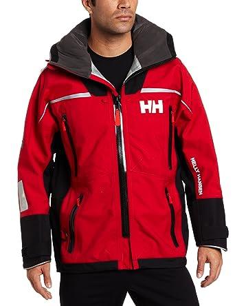 Helly Hansen Ocean - Chaqueta para Hombre, Hombre, 30300, Rojo, XX-Small: Amazon.es: Deportes y aire libre