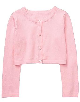 91ae71a58 Amazon.com  Gymboree Baby Girls Long Sleeve Crop Cardigan  Clothing