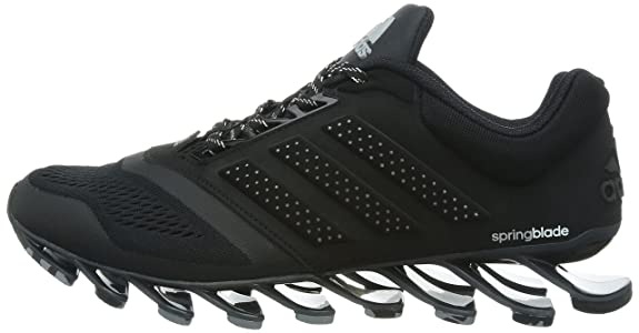 3cd4c827ef99 Adidas Men s Springblade Drive 2 M Core Black and Yellow Running Shoes - 6  UK  Buy Online at Low Prices in India - Amazon.in