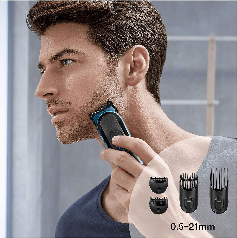 Braun MGK3080 - Set de afeitado multifunción 9 en 1, depiladora masculina, recortadora de barba, cortapelos profesional hombre, negro: Amazon.es: Salud y cuidado personal