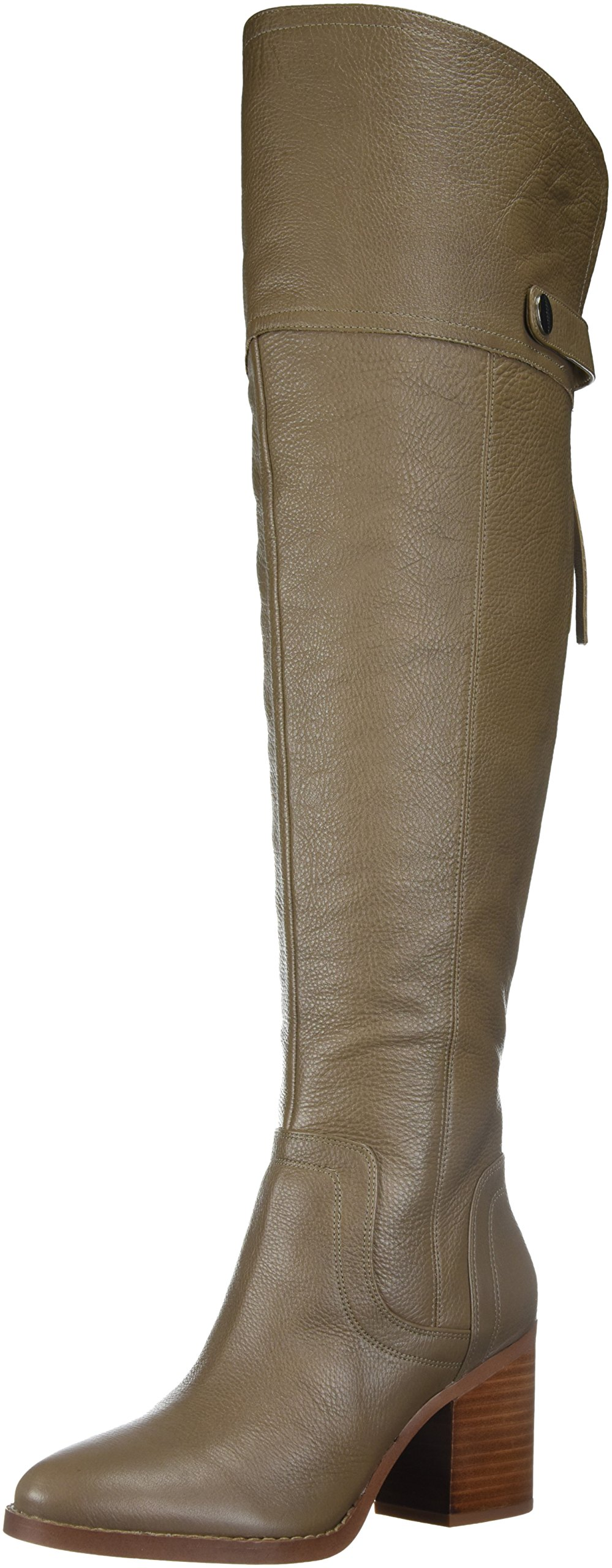 Franco Sarto Women's Ollie Calf Over The Knee Boot, Dover Taupe, 8 Medium/Wide Shaft US