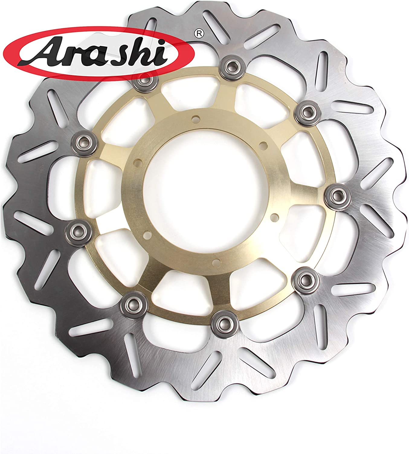 Arashi Rear Brake Disc Rotor for Honda CBR600RR 2003-2015 ABS 2009-2015 SP 2014 2015 Motorcycle Replacement Accessories 2004 2005 2006 2007 2008 2010 2011 2012 2013 2014