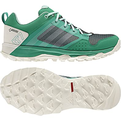 adidas Women's Kanadia 7 Tr GTX W Hiking Shoes Green Size