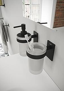 bath Stick Escobillero Metal Blanco Mate