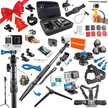 Amazon.com : Nomadic Gear 55-in-1 Action Camera Accessories Kit ...