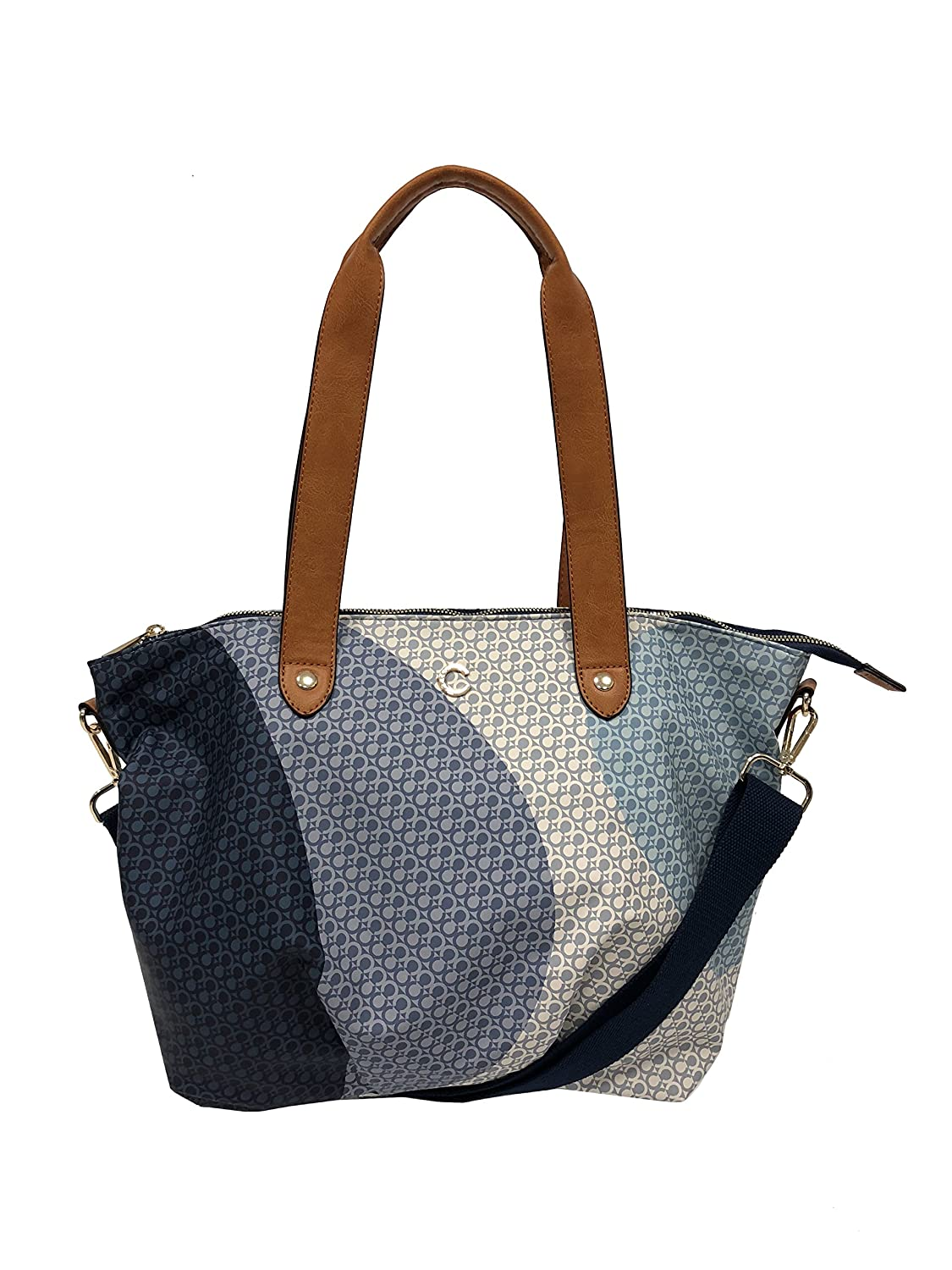 Carrera Accessori Borsa donna shopping bag blu mod. CB203