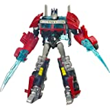 Transformers Prime Cyberverse Command Your World Commander Class Series 2 Nightwatch Optimus Prime Figure