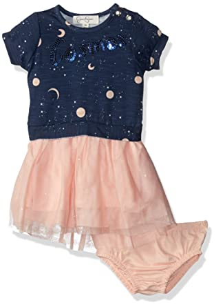 Amazon Com Jessica Simpson Baby Girls French Terry Dress Clothing
