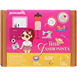 Jackinthebox Fashion Themed Educational 3-in-1 DIY Craft Kit for Girl's