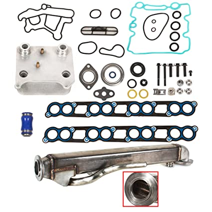 Ford 6.0 EGR Cooler Engine Oil Cooler Kit W/ Gaskets Ford 6.0 Diesel Turbo F250