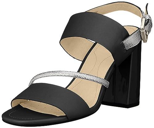 2ac4ba28 Sandalias de Vestir para Mujer, Color Negro, Marca GEOX, Modelo Sandalias De  Vestir para Mujer GEOX D AUDALIES High Sand Negro: Amazon.es: Zapatos y ...