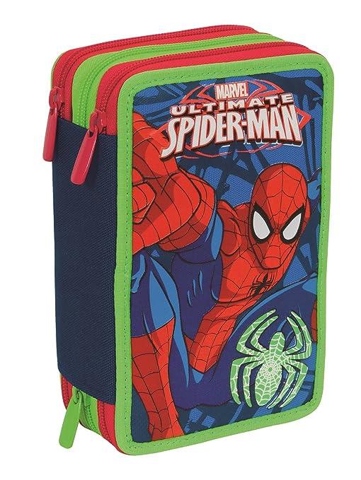 Estuche Escolar 3 Pisos - Marvel Ultimate Spiderman - Multi ...