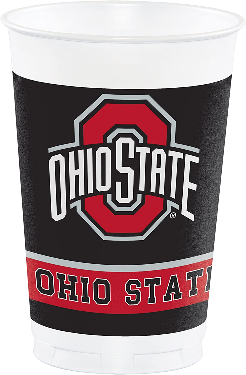 Ohio State University Plastic Cups, 24 ct