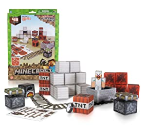 Minecraft Papercraft Set